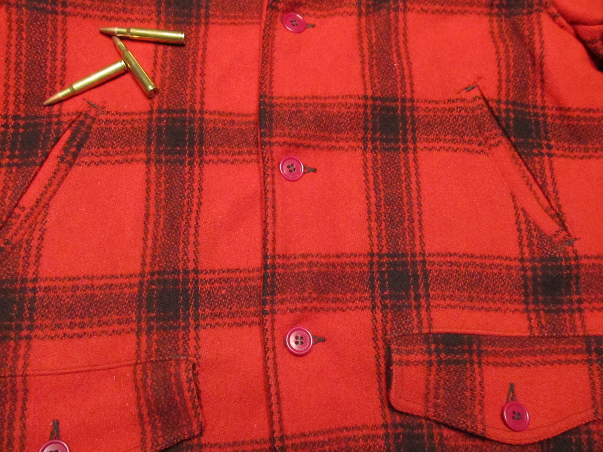 Red Plaid Hunting Coat