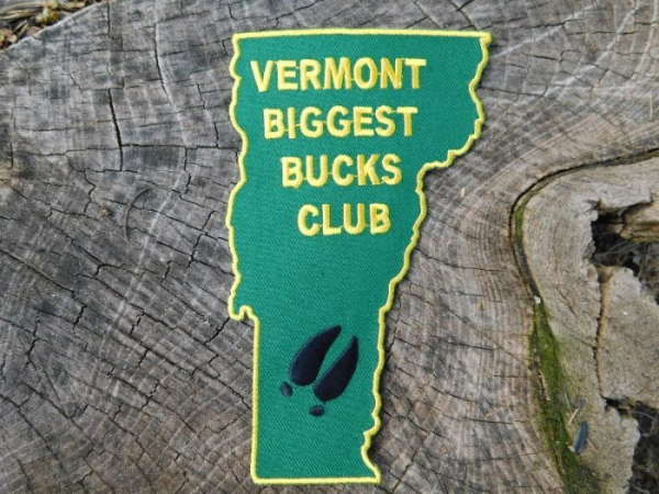 Vermont Biggest Bucks Club Patch